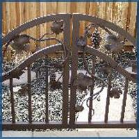 Courtyard Gates, Garden Gates Denver
